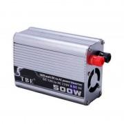 Invertor de Tensiune Auto TBE-500, 500W, DC12V la AC220V, Sinusoida Modificată