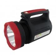 Lanternă cu LED și Acumulator Reîncărcabil MLN-2886, 22+1 LED-uri, 20 x 10 cm, Negru