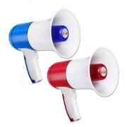 Megafon Portavoce 15W cu Funcție de Înregistrare și Sirenă, 8-20 Ore, Acumulator, Diverse Culori