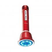 Microfon Karaoke cu Boxă Hi-Fi LED Wster, 3 W, Bluetooth, Funcţie Ecou / Reverb, Radio, Baterie Reîncărcabilă, Diverse Culori