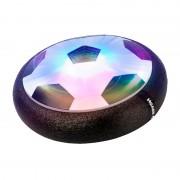 Minge de Fotbal Rotativă pentru Interior Magic Hover Ball, Lumini LED, Muzică, 18 cm, Baterii