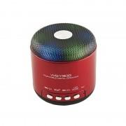 Mini Boxă Portabilă Bluetooth cu Lumini Disco LED Wster, Radio FM şi Microfon, USB, Baterie, Diverse Culori