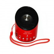 Mini Boxă Portabilă cu Radio FM şi MP3 Player Wster, 3 W, USB, Baterie Reîncărcabilă, Diverse Culori