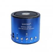 Mini Boxă Portabilă cu Bluetooth Wster, Radio FM şi MP3 Player Wster, 3 W, USB, Baterie Reîncărcabilă, Diverse Culori