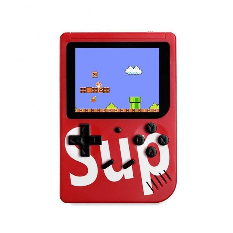 """Mini Consolă Retro Sup Game Box Plus, 400 Jocuri Clasice, Ecran LCD 3"""", Ieșire AV TV, Diverse Culori"""