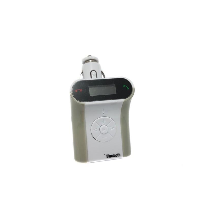 Modulator FM Bluetooth pentru Maşină Wireless Radio FM Car Kit, Încărcător USB, MP3, microSD, DC 12V, Diverse Modele