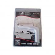 Modulator FM pentru Maşină 8 în 1 Wireless Radio FM Car Kit, 2 Încărcătoare USB, MP3, microSD, DC 12V