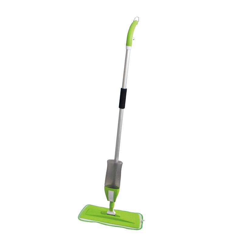 Mop cu Pulverizator 2 în 1 Super Spray Mop Grunberg, Podele şi Geamuri, Lavetă Microfibre, Rezervor 600 ml
