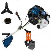 Motocoasă Stern GGT1400E, 2.1 CP, 2800 rpm, Diametru Tăiere 25 cm, 43 cc, Rezervor 1.2 Litri, Accesorii incluse