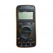 Multimetru Digital DT9205A Multimeter, Cabluri şi Baterie incluse, Carcasa Antişoc