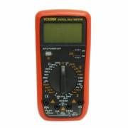 Multimetru Digital VC9208N Multimeter, Cabluri Sonde şi Baterie incluse, Carcasa Plastic