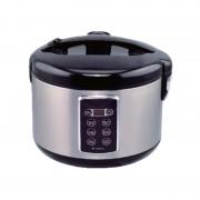 Oală Electrică cu Control Digital Hausberg, 1.8 Litri, 700 W, Programe Gătit, Inox