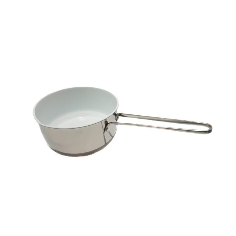 Oală pentru Lapte cu Strat din Ceramică Grunberg, 1.7 Litri, Inox