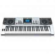 Orgă Electronică cu 61 Clape MK-810, 2 Boxe, Ecran LCD, Player MP3, 8 Percuții, 128 Tonuri/Ritmuri, 10 Melodii