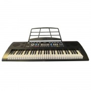 Orgă Electronică cu 61 Clape Miles MLS-6639, 2 Boxe, Player MP3, 128 Ritmuri/Tonuri, 60 Melodii Demonstrative