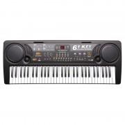 Orgă Electronică cu 61 Clape MQ-809USB, 2 Boxe, Player MP3, Microfon, 10 Ritmuri, 16 Tonuri