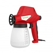 Pistol de Vopsit electric Victronic, 80 W, 800 ml, Debit 240 ml/min, Alb/Roșu