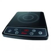 Plită Electrică cu Inducţie Zilan, 1 Arzător, 2100 W, Funcţii, Timer, Control Tactil, Negru