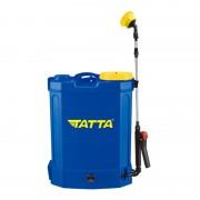 Pompă cu Acumulator pentru Stropit în Grădină Tatta, 12 Litri, Automată, Curele Transport, Albastru