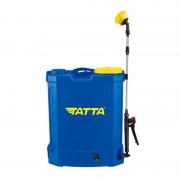 Pompă cu Acumulator pentru Stropit în Grădină Tatta, 18 Litri, Automată, Curele Transport, Albastru