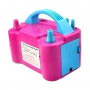 Pompă Electrică pentru Umflat Baloane Party Pump, 600 W, Alimentare 220 V, Roz/Albastru