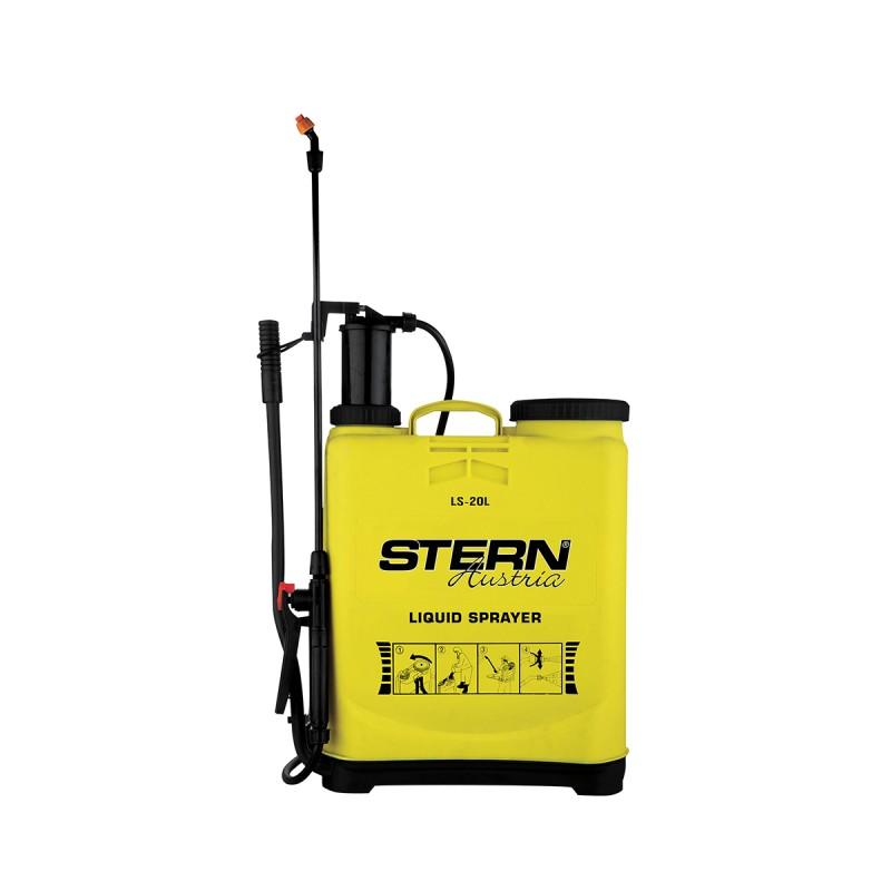 Pompă manuală cu Piston şi Tijă pentru Stropit în Grădină Stern, 20 Litri, Curele Transport