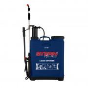 Pompă manuală cu Piston şi Tijă pentru Stropit în Grădină Stern, 16 Litri, Curele Transport, Albastru