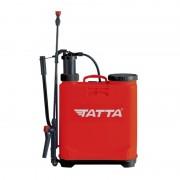 Pompă manuală cu Piston şi Tijă pentru Stropit în Grădină Tatta, 16 Litri, Curele Transport, Roșu