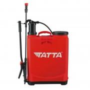 Pompă manuală cu Piston şi Tijă pentru Stropit în Grădină Tatta, 20 Litri, Curele Transport, Roșu