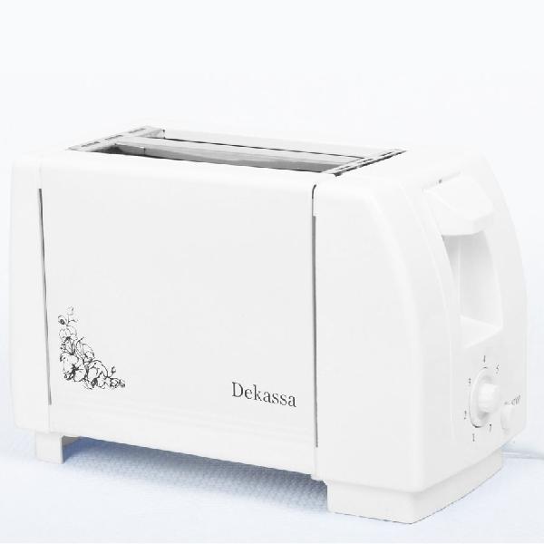 Prăjitor de Pâine DeKassa, 750 W, 7 nivele, Alb