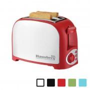 Prăjitor de Pâine Hausberg, 750 W, 2 Felii, 7 Nivele Putere, Diverse Culori
