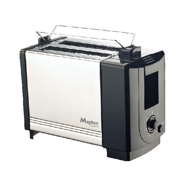 Prăjitor de Pâine Magitec DeKassa, 750 W, 5 nivele, Inox