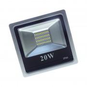 Proiector LED cu 40 LED-uri SMD Flood Light, 20 W, Exterior, Lumină Rece, IP65