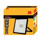 Proiector LED Floodlight Kodak, 50W (500W), 4300LM, A+, Lumină DayLight, Exterior, IP65