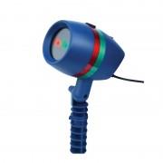 Proiector Stele şi Forme pentru Interior sau Exterior Star Laser Light, 2 Culori, Jocuri Lumini Crăciun