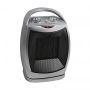 Radiator Ceramic cu Oscilație Handy Hausberg, 1500 W, 2 Nivele Încălzire, Termostat Reglabil, Ventilator, Gri