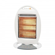 Radiator cu Halogen Victronic, 1200 W, 3 Nivele Încălzire, Alb
