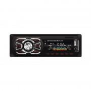 Radio MP3 Player Auto Bluetooth, 4 x 25 W, Stick Memorie USB şi Card SD/MMC, AUX Frontal, Ceas Digital, Telecomandă