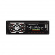 Radio MP3 Player Auto MGZ, 4 x 25 W, Stick Memorie USB şi Card SD/MMC, AUX Frontal, Ceas Digital, Telecomandă