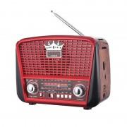 Radio Portabil Clasic, Bandă FM/MW/SW, Antenă Telescopică, Baterii, Diverse Culori