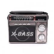 Radio Portabil cu MP3 Player și Lanternă Waxiba 381UR, Bandă AM/FM/SW, Antenă Telescopică