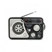 Radio Portabil cu MP3 Player și Lanternă Waxiba 522URT, Bandă AM/FM/SW, Antenă Telescopică