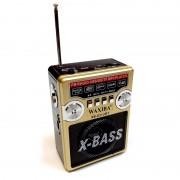 Radio Portabil cu MP3 Player și Lanternă Waxiba 631URT, Bandă FM, Antenă Telescopică