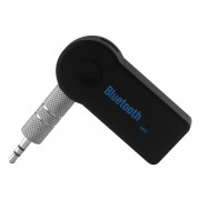 Receptor Bluetooth Audio Auto Car Kit MusicReceiver, Stereo, Mufă Jack 3.5mm, Handsfree, Aux, Universal, Negru