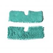 Rezervă Lavetă Microfibre pentru Lazy Spray Mop cu Pulverizator, 2 Fețe, Verde