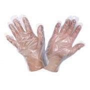 Set 100 Mănuși de Unică Folosință, Mărime Universală, Polietilena
