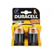 Set 2 Baterii Alcaline D LR20 UM-1 MN1300 Basic Duracell, 1.5V, 2 Bucăți, Blister