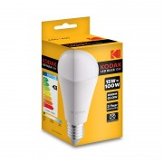 Set 3 Becuri LED Kodak, E27 / A60, 15W (100W), 1450LM, 25.000 Ore, A+, Lumină Caldă