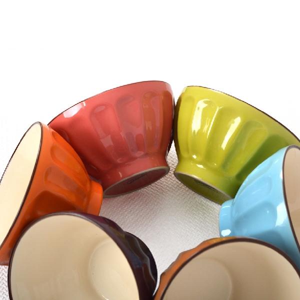 Set 6 Boluri Ceramică pentru Supă Vabene, 650 ml, 6 Piese