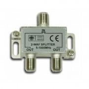 Spliter 2 Căi pentru Cablu TV, Frecvența 5-1000 Mhz, Sistem Prindere